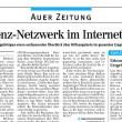 Medienbericht in der Freien Presse - Auer Zeitung