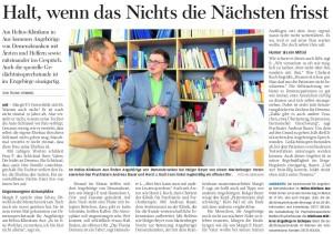 FP-Pressebericht, Auer Zeitung, August 2011